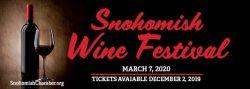 Snohomish Wine Festival 2020